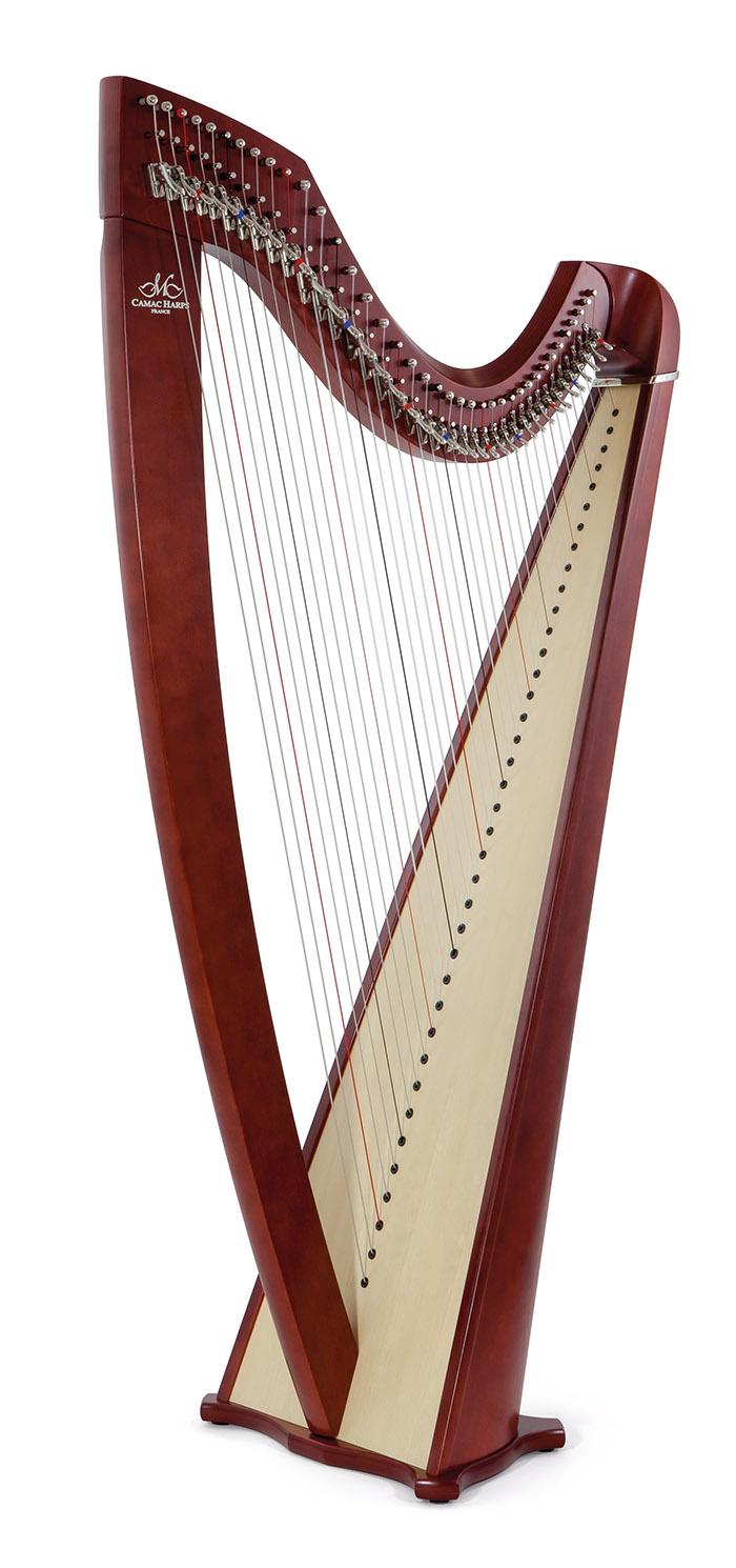 Isolde lever harp