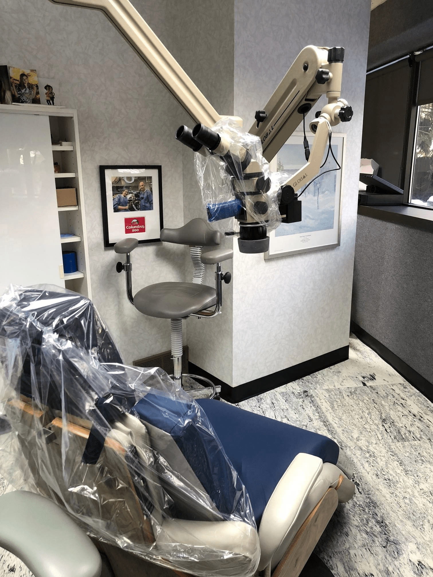 Operatory with a Microscope