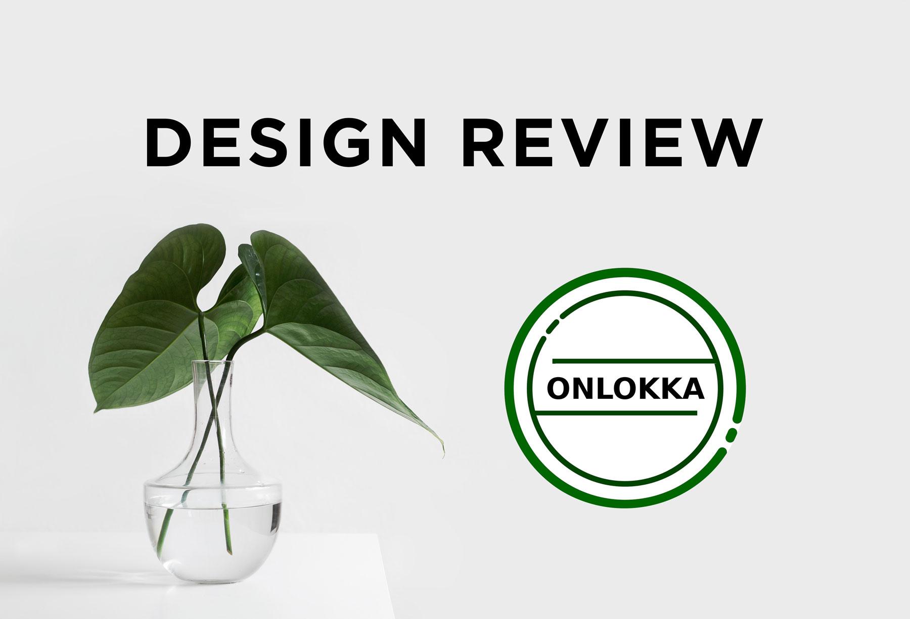Design Review – Onlokka.de