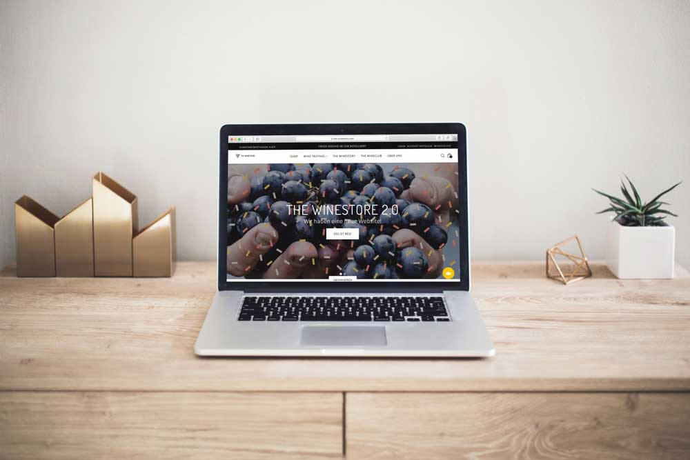 Design Review – The Winestore Relaunch Part II