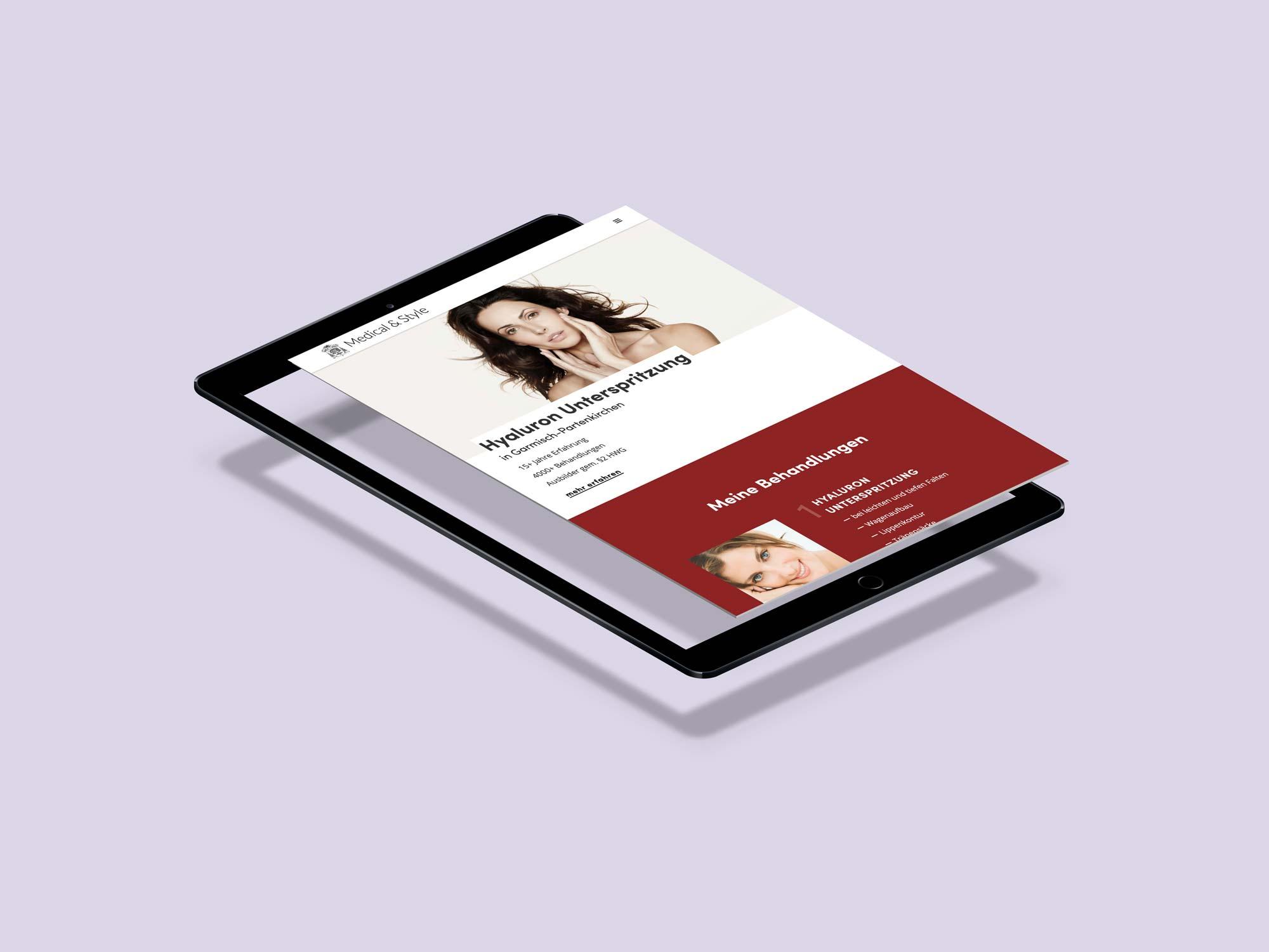 Medical & Style Website