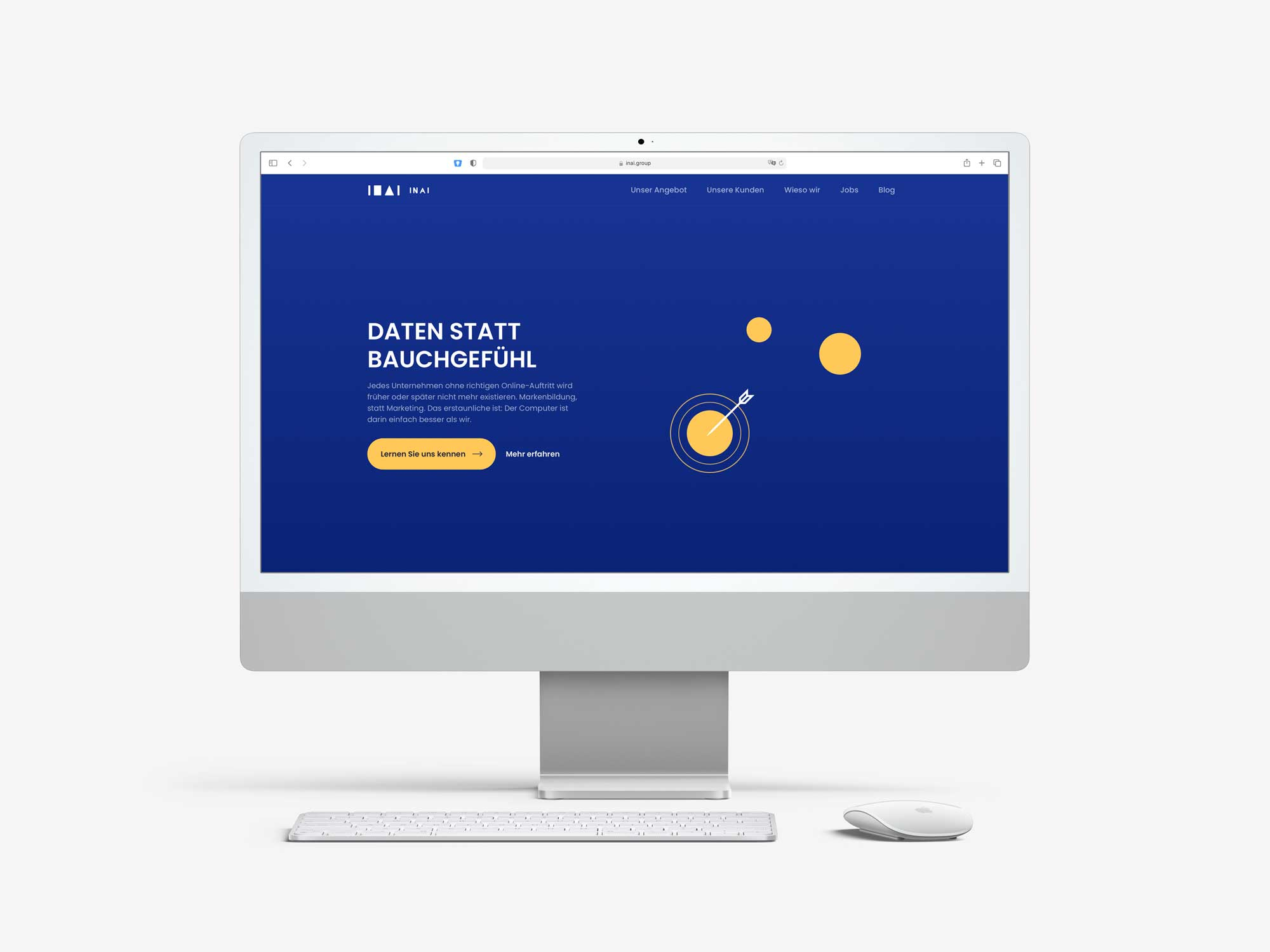 INAI Group Website