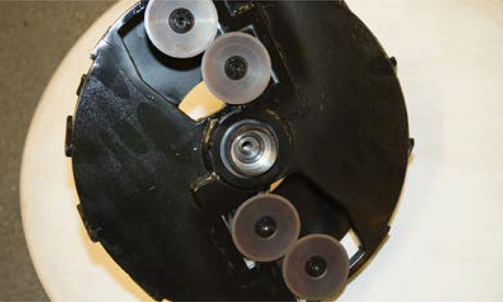 GreenMech Holzhäcksler mit der patentierten DiscMesser Technologie