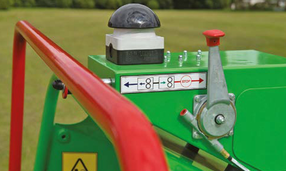 GreenMech Holzhäcksler Sicherheit bei der Arbeit