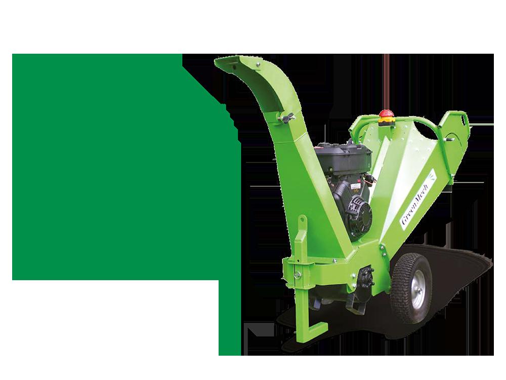GreenMech Holzhäcksler CS 100