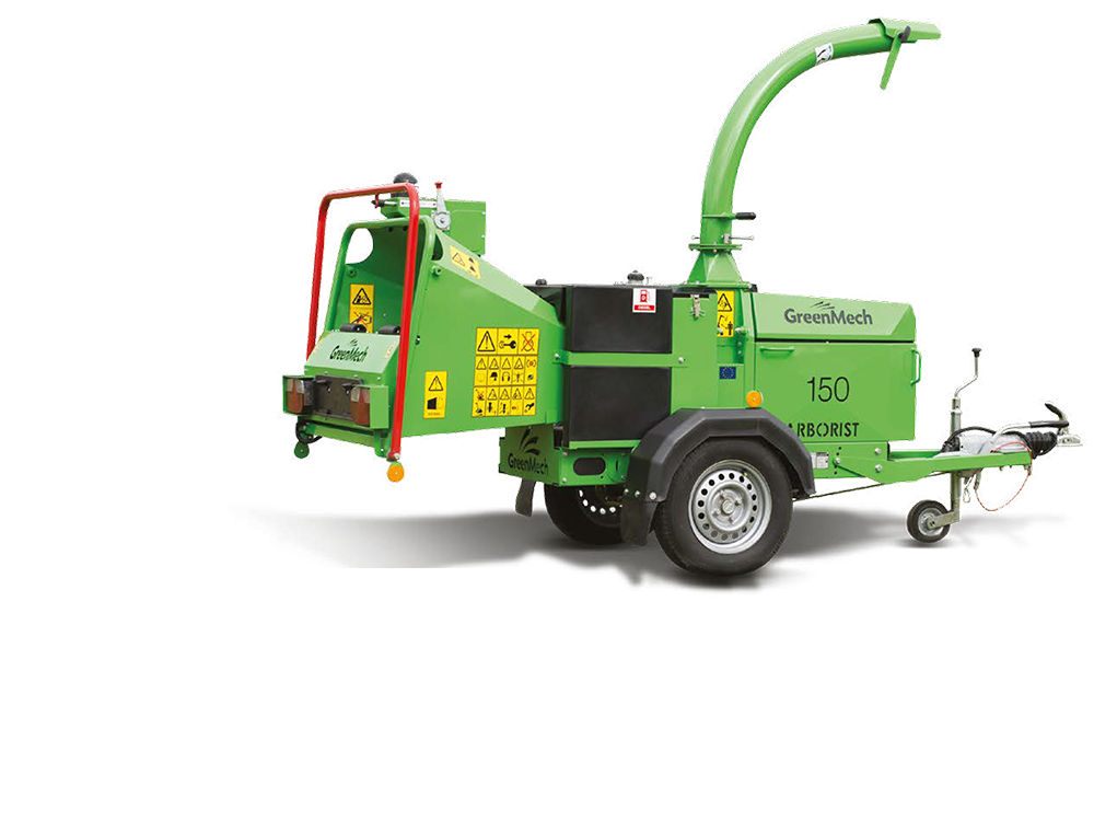 GreenMech Holzhäcksler Arborist 150