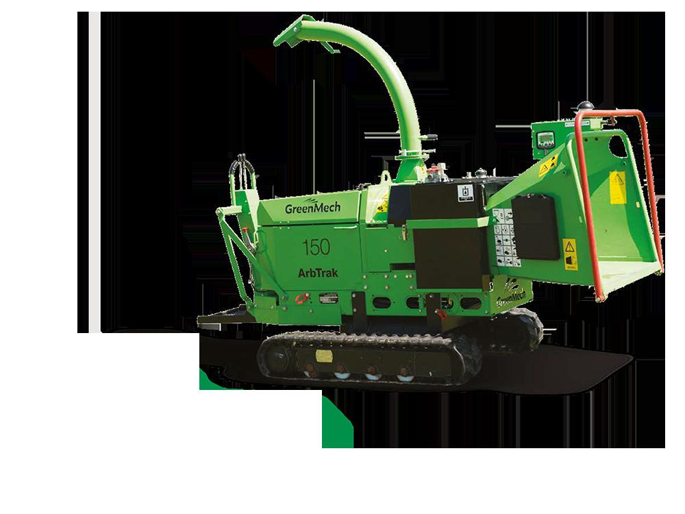 GreenMech Holzhäcksler ArbTrac 150