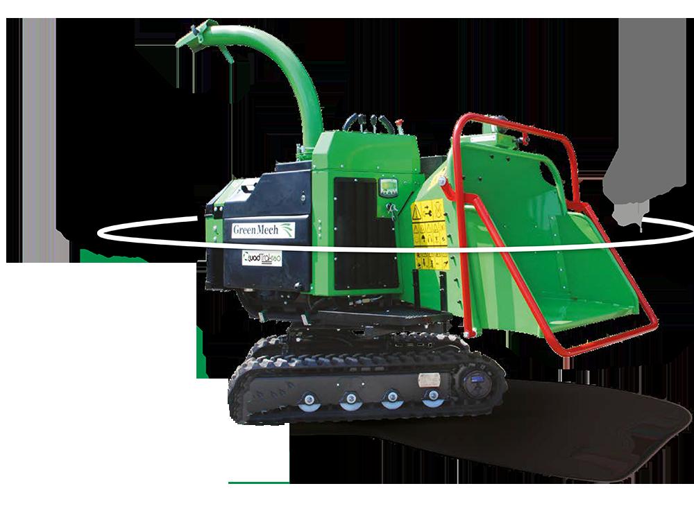 GreenMech Holzhäcksler QuadTrac  160