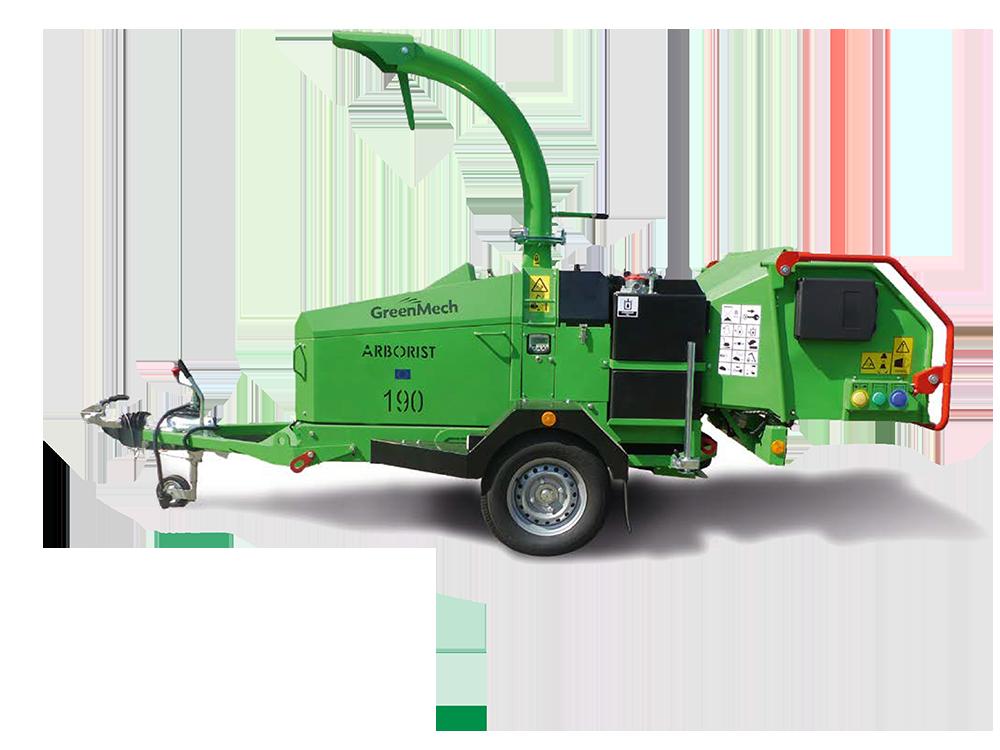 GreenMech Holzhäcksler Arborist 190