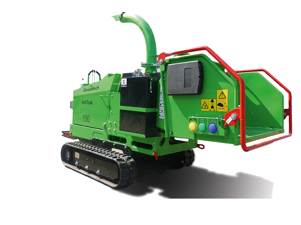 GreenMech Holzhäcksler ArbTrac 190