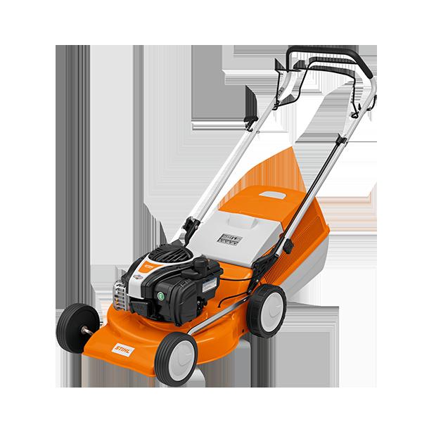 Stihl Rasenmäher in allen gängigen Schnittbreiten und Ausführungen mit Benzinmotor