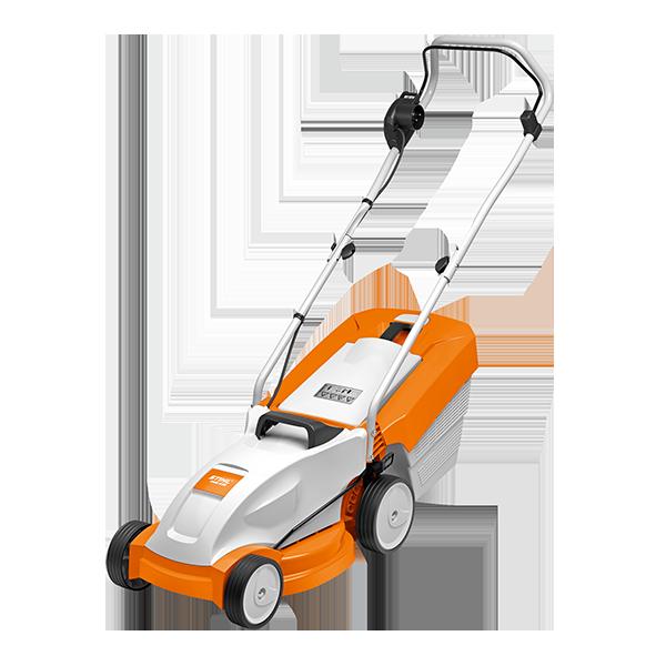 Der Elektrorasennmäher RME 235 von Stihl, - für kleine Rasenflächen