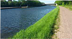 Foto Böschungen an Wasserläufen und Gräben