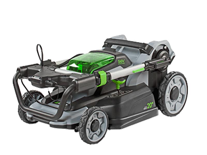 EGO Power Akku Rasenmäher LM2001E Lagerungsstellung