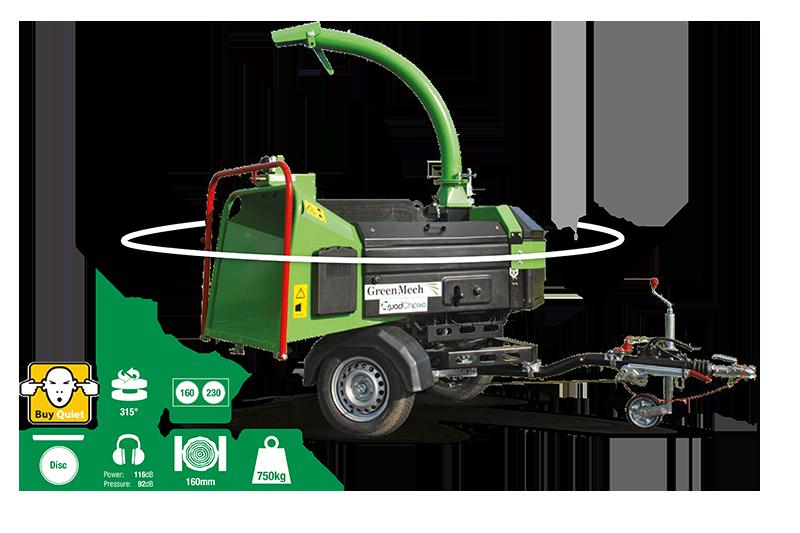 GreenMech Holhäcksler QuadChip 160