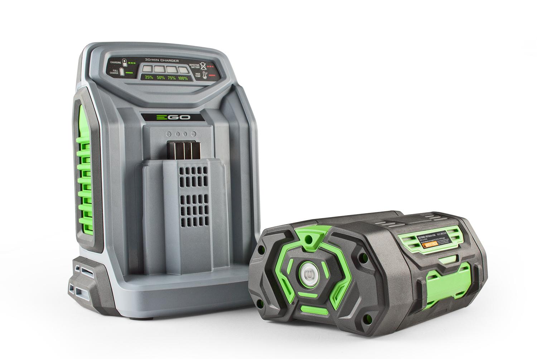 EGO Power Arc Lithium Akku mit Schnelladegerät