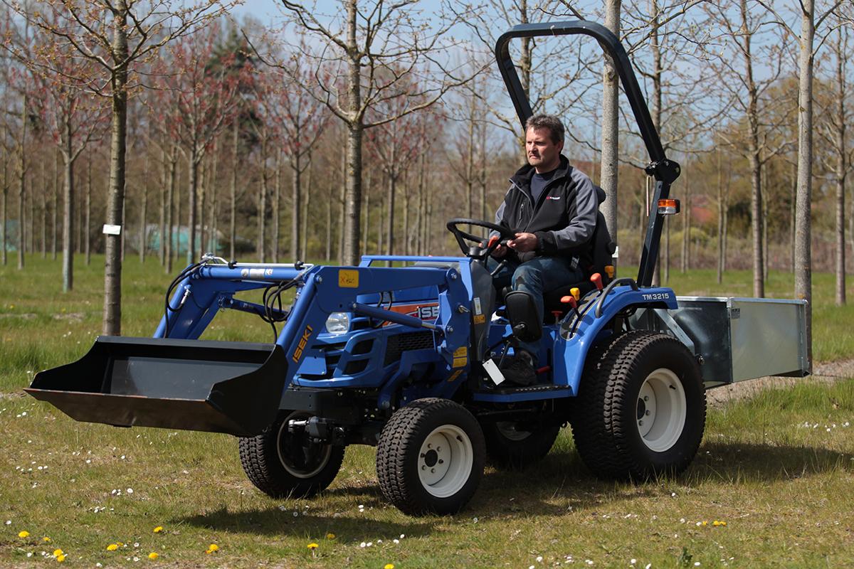 Der TM 3215 Allrad. Schmal - leistungsstark und zuverlässig