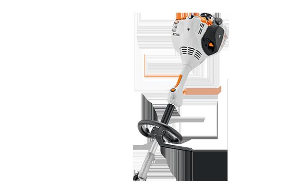 27,2 cm3, 0,8 kW/1,1 PS, 4,3 kg Für den Einsatz im Garten, am Haus und auf dem Hof. STIHL ErgoStart, Rundumgriff, Traggurt, 2-MIX-Motor.