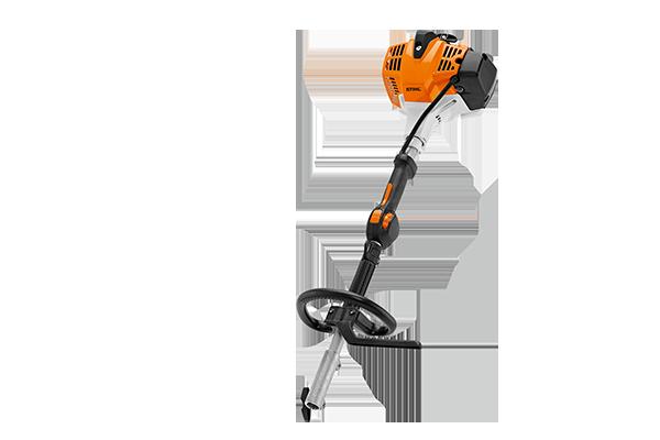 24,1 cm3, 0,9 kW/1,2 PS, 4,0 kg Für den professionellen Einsatz. STIHL ErgoStart, Teillastfunktion ECOSPEED, Rundumgriff, Traggurt, 2-MIX-Motor, Stopptaster.