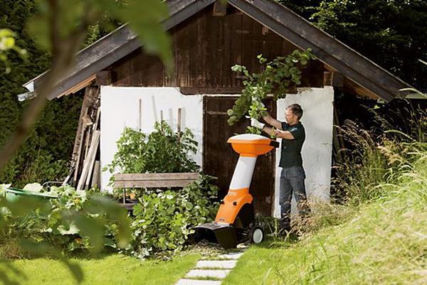 Stihl Gartenhäcksler für den privaten Einsatz