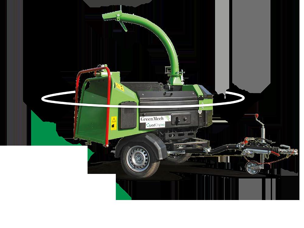 GreenMech QUADCHIP 160 D