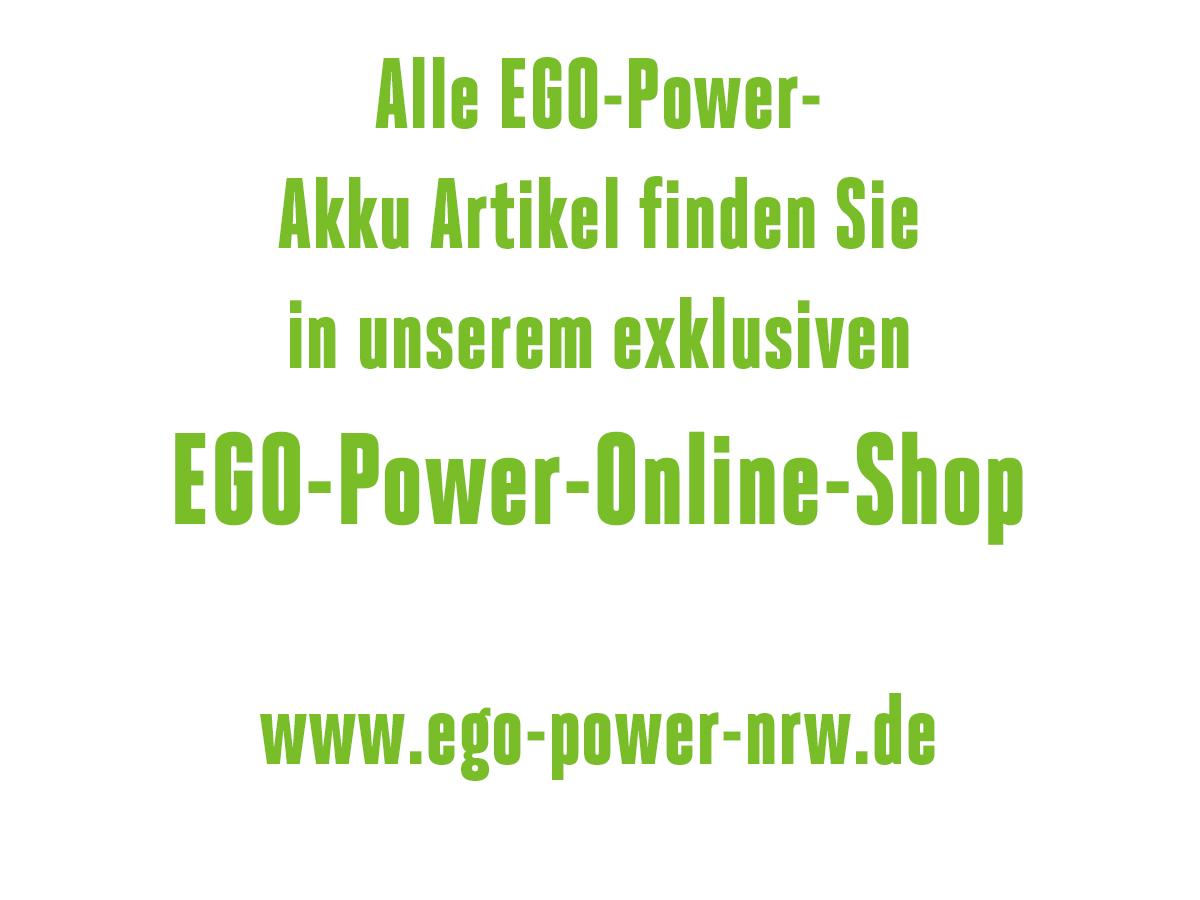 Aaaallle EGO-Power Produkte
