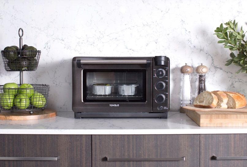 Tovala Steam Oven on counter.