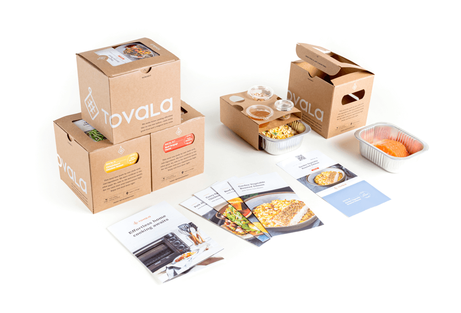 Taste of Tovala box.