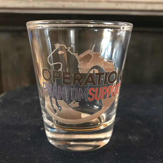O.P.S. Shot Glass