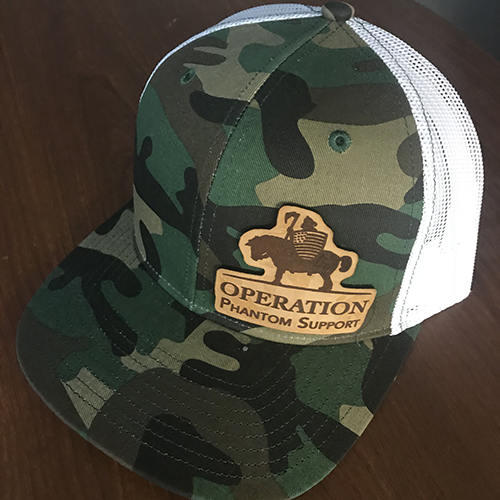 Camo with White Mesh O.P.S. Hat