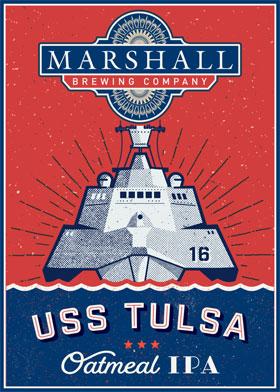 USS Tulsa Oatmeal IPA