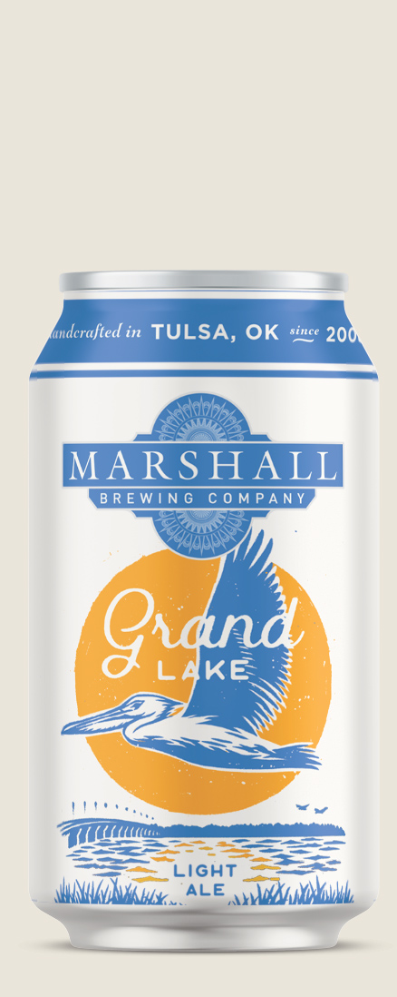 Grand Lake Light Ale can