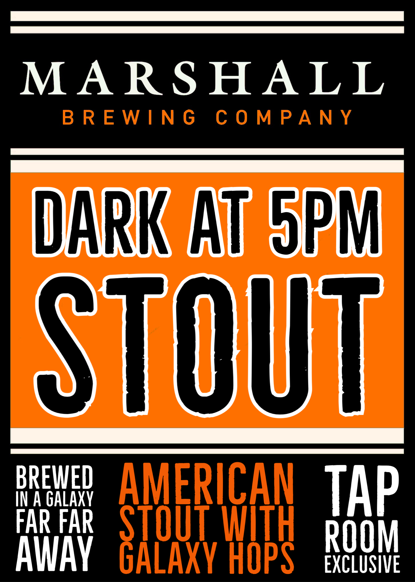 Dark at 5 stout