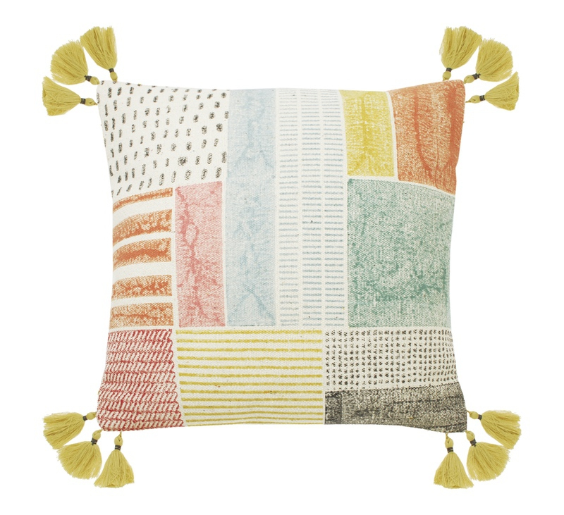 Sorbet Collage Cushion
