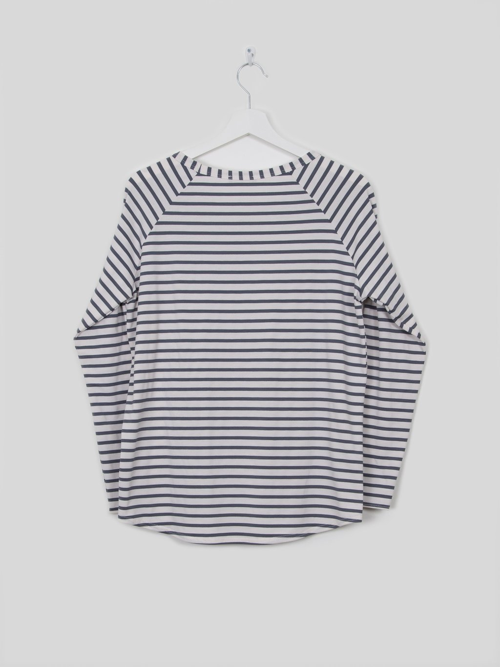Tasha T-shirt Stripe in Charcoal