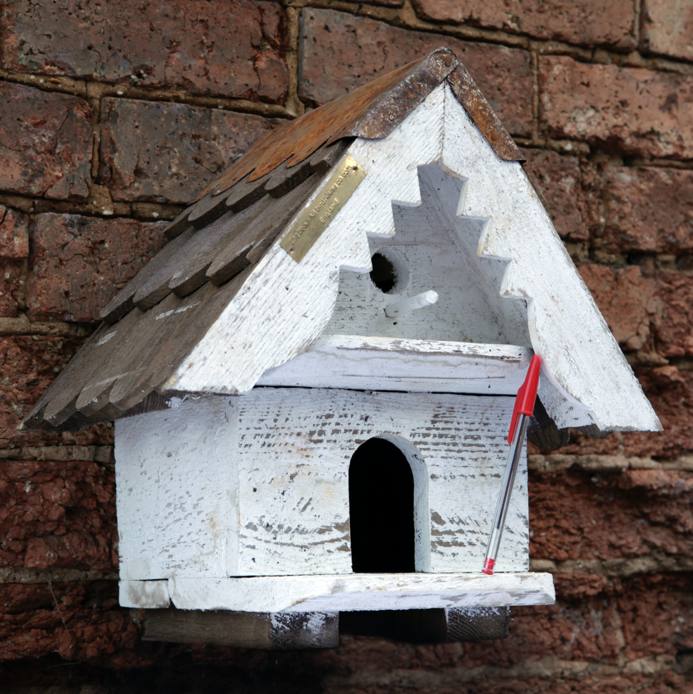One Tier Birdhouse - Small Hole