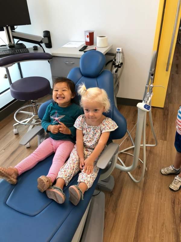 Kids at the dentist