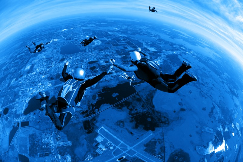 Sky Diving Image