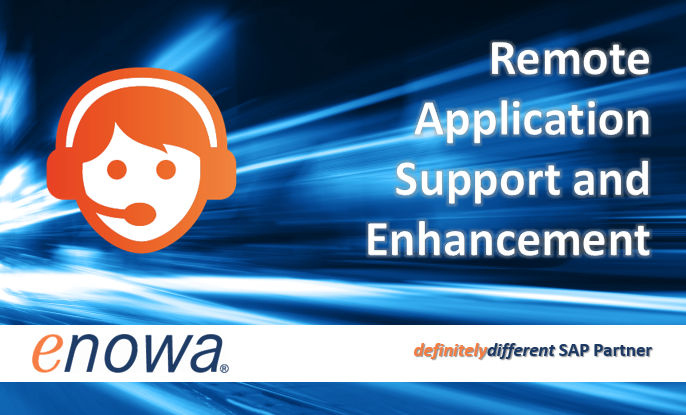 Enowa Won Three SAP Remote Application Support Contracts