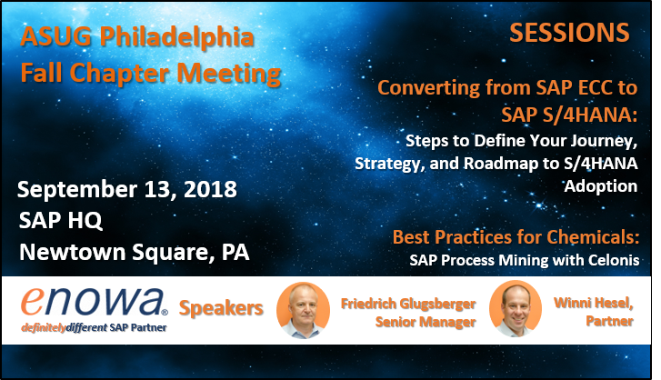 ASUG Philadelphia Fall Chapter Meeting