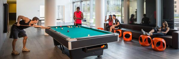 Mercedes Club - Manhattan Gym - Social Club - Recreation - Pool Table