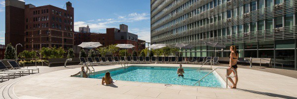 Mercedes Club NYC - Rooftop Pool and Sun Deck