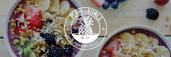 Mercedes Club NYC - Health and Wellness - Playa Bowls Cafe - Acai, Pitaya, Green and Coconut Bowls