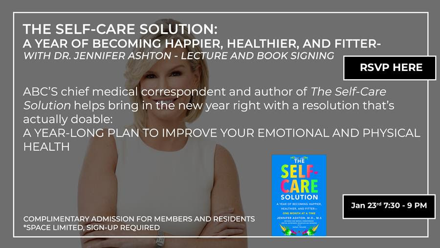 Self Care Solution - Lecture and Book Signing