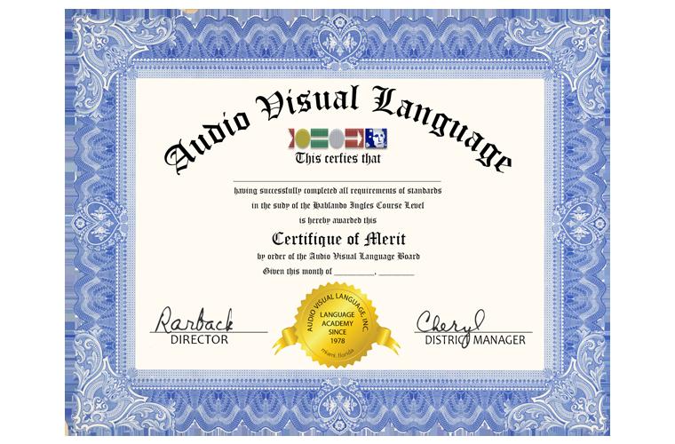 Diploma Hablando Ingles