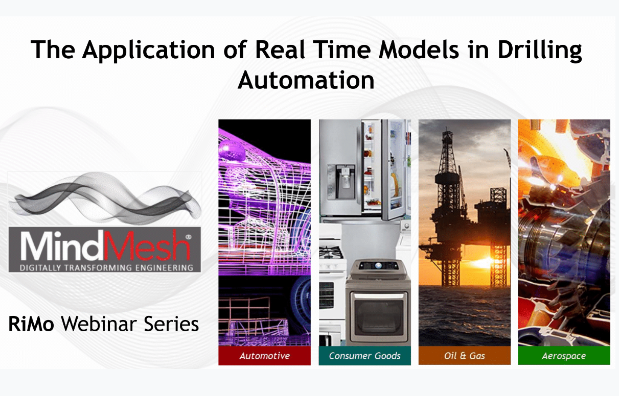RiMo Webinar Series 1: The Applications of Real-Time Models in Drilling