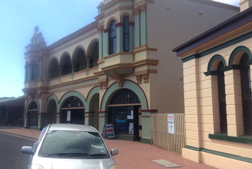 Gaiety Theatre Zeehan  One of the oldest Theatres in Australia