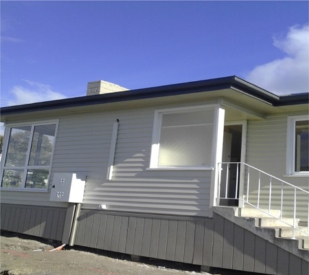 Glenorchy House external painting completed