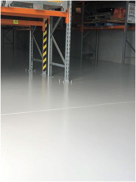 Hydro Workshops Cambridge Flooring Area