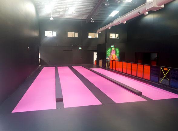Hyperdrive Floor repainting
